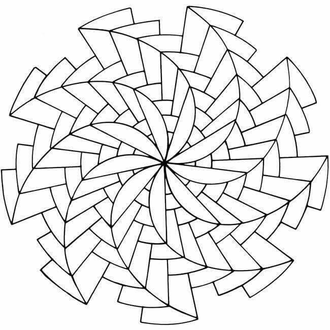 Mandala Design Coloring Pages At Getdrawings Com Free For Personal