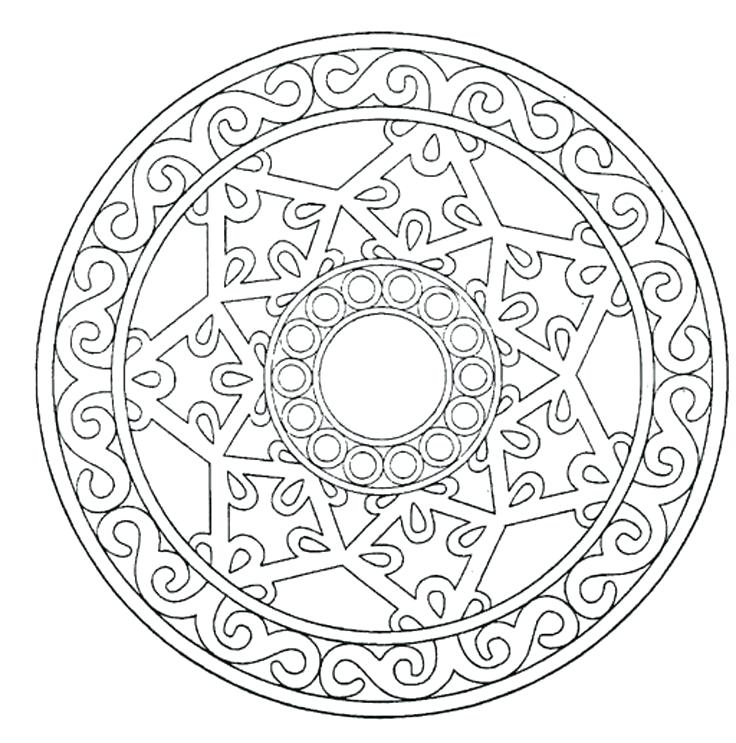 736x743 Good Mandala Meditation Coloring Pages Fall Coloring Pages