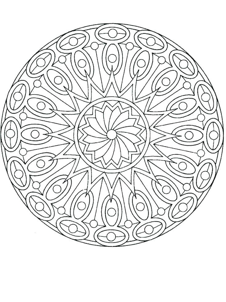 736x981 Mandala Meditation Coloring Pages For Coloring Book Mandala
