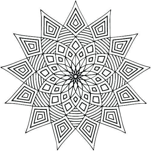 500x500 Mandala Meditation Coloring Pages Meditation Coloring Book Pages