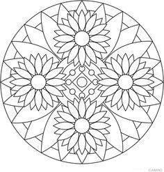 236x247 Free Mandala Meditation Coloring