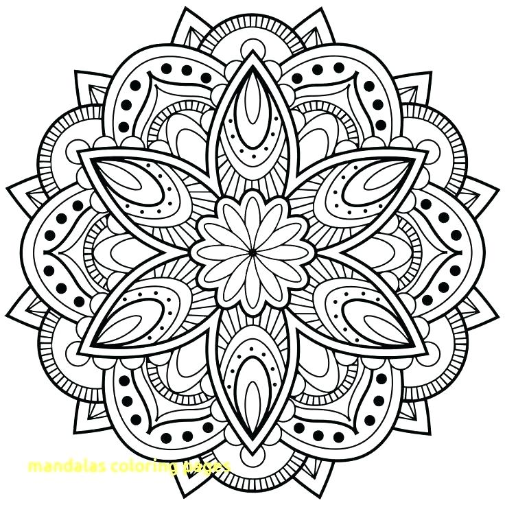 736x736 Mandala Meditation Coloring Pages Autoinsuranceny Club