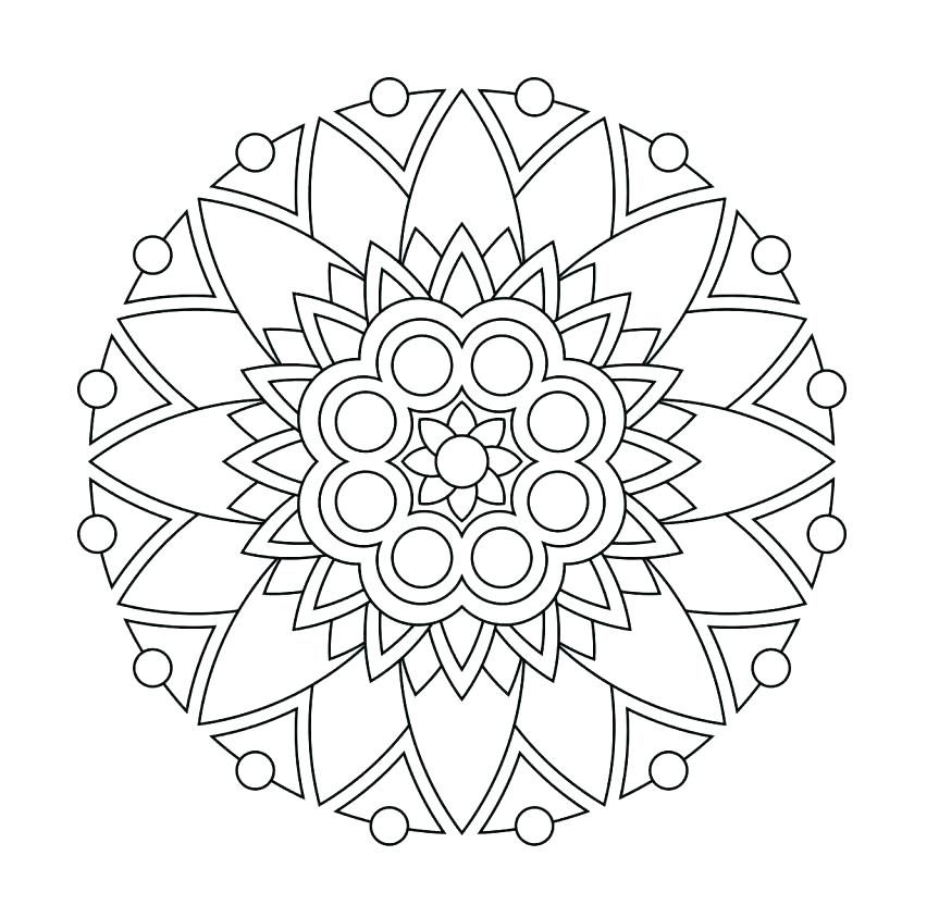863x832 Meditation Coloring Pages