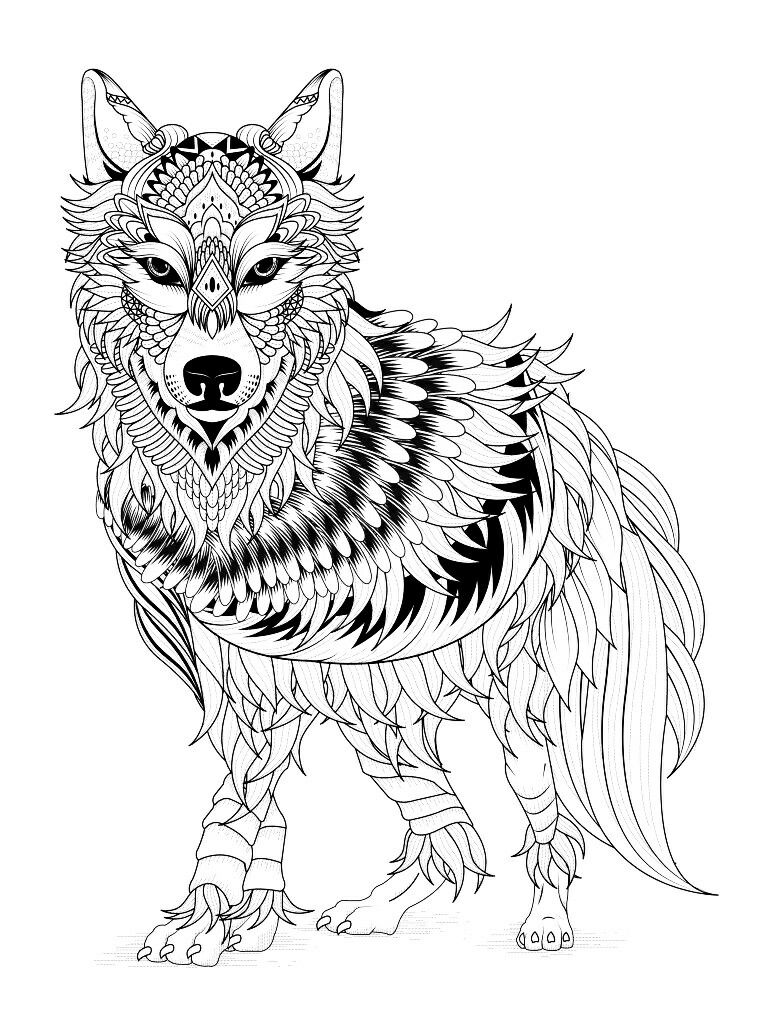 768x1024 Coloring Pages Adult