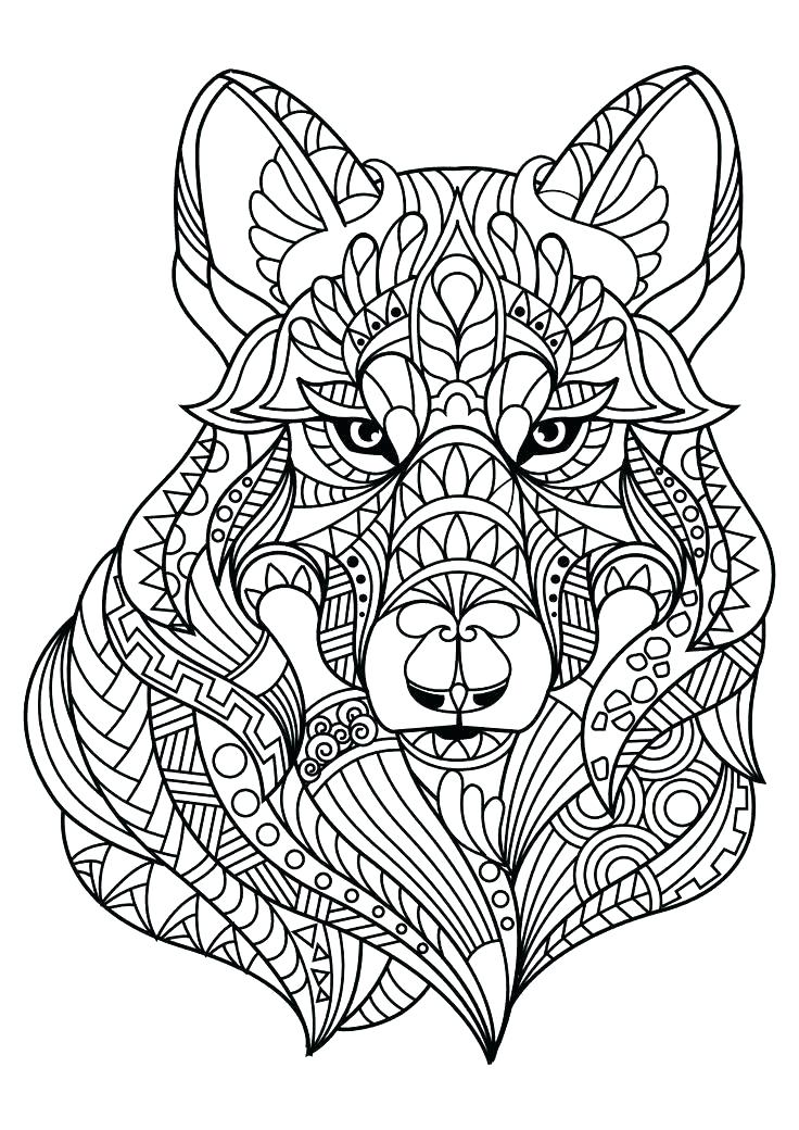 736x1040 Wolf Coloring Sheets Wolf Coloring Sheets Animal Coloring Pages