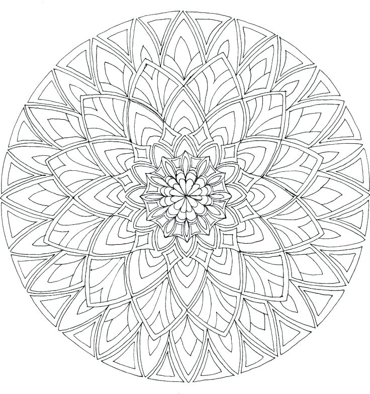 736x784 Free Printable Mandala Coloring Pages Plus Wolf Coloring Pages