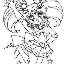 220x220 Sailor Moon Coloring Pages