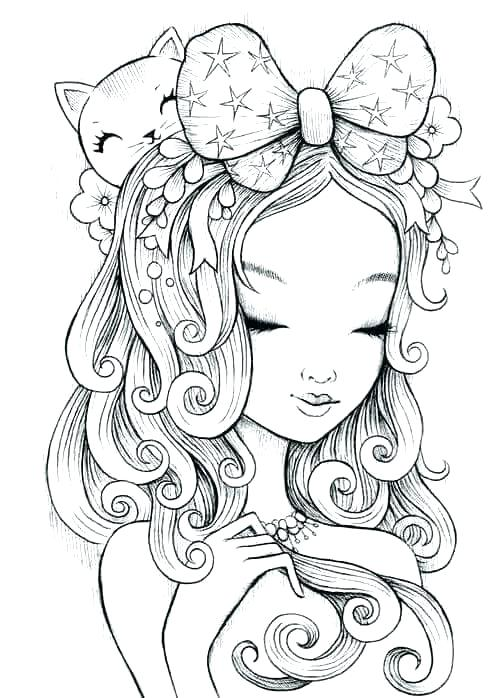 504x698 Manga Coloring Pages Coloring Pages Adult Manga Anime Colouring