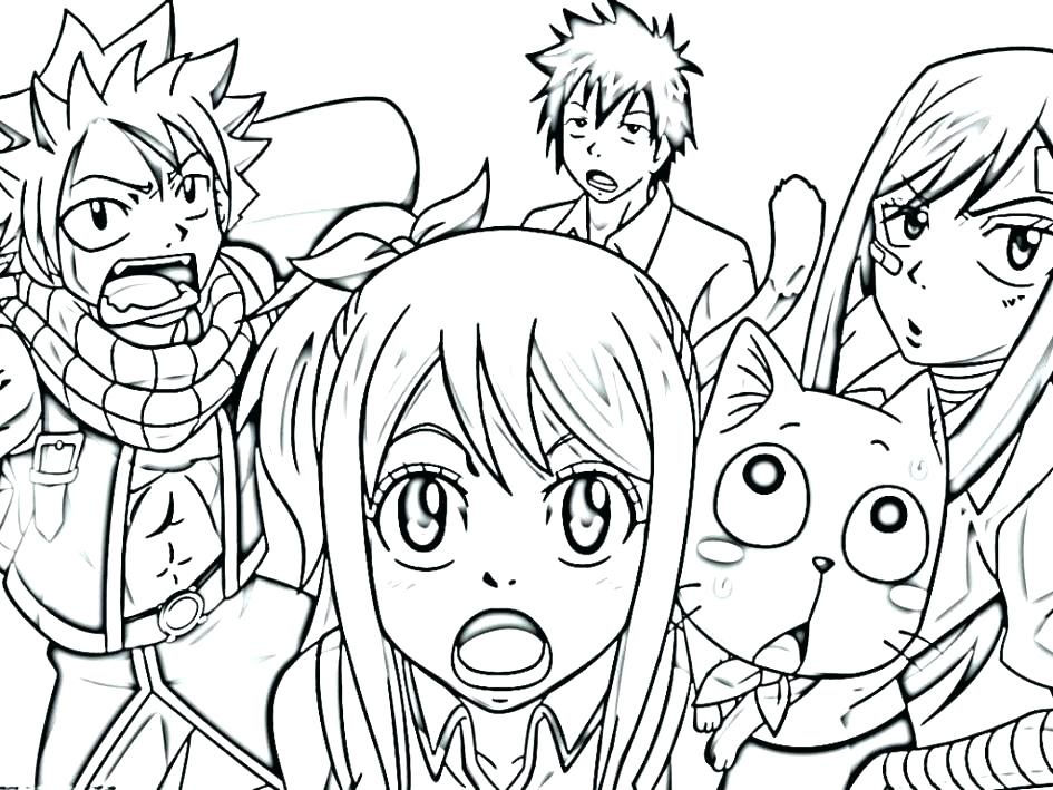945x709 Manga Coloring Pages Coloring Pages Anime Animals Anime Manga