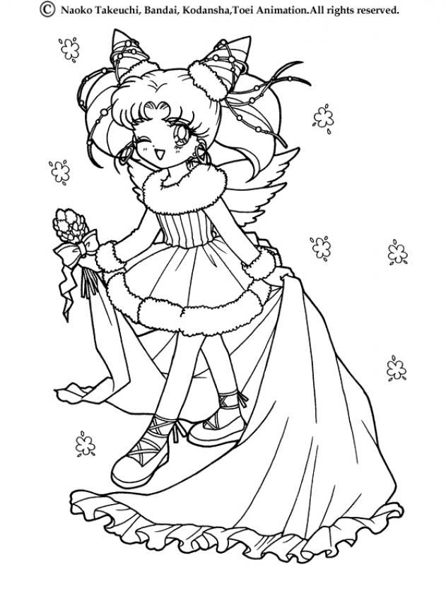 631x850 Sailor Moon Princess Coloring Page More Manga Coloring Sheets