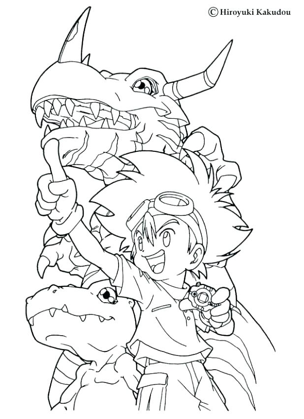 618x850 Digimon Coloring Pages Coloring Pages And And Coloring Page
