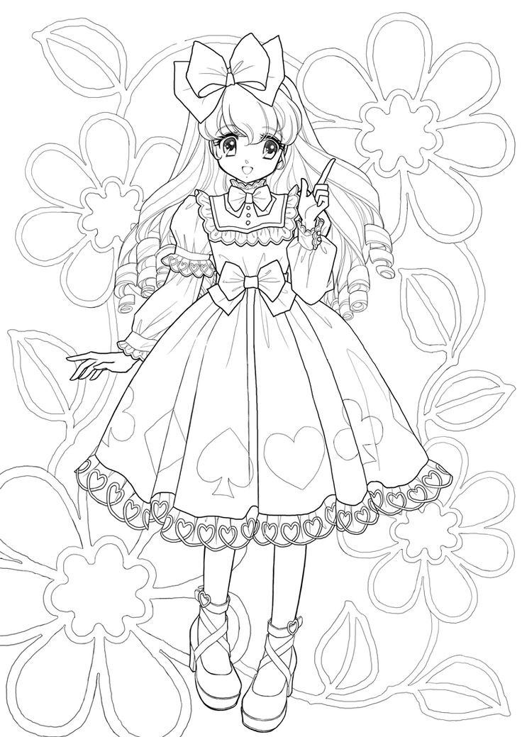 736x1039 Manga Coloring Pages For Adults Elegant Best Images