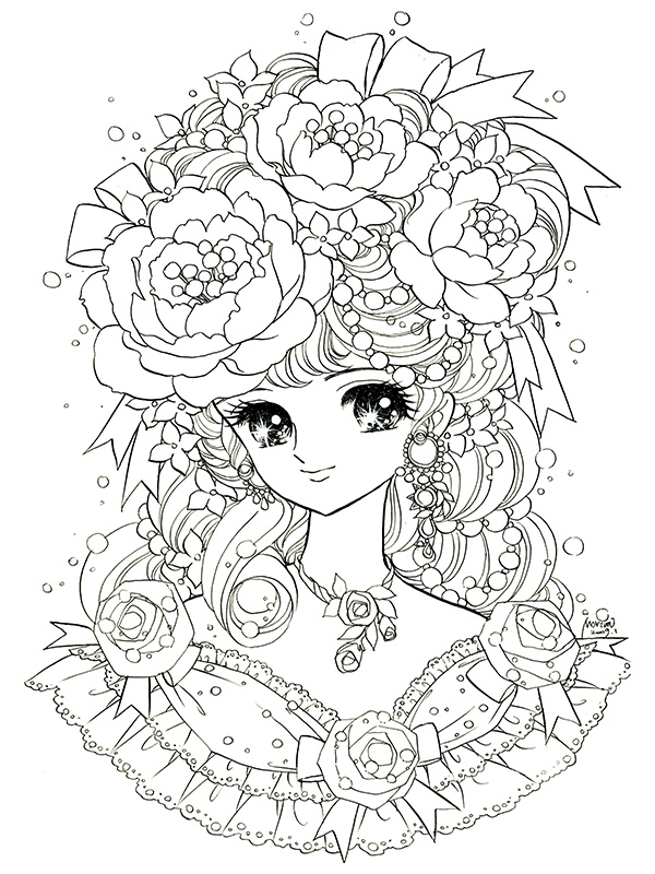 600x800 Yume Shoujo Coloring Pages Adult Diy Adult