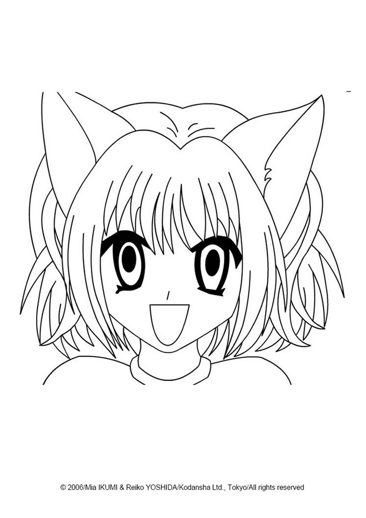 Manga Coloring Pages For Kids At Getdrawings Com Free For Personal