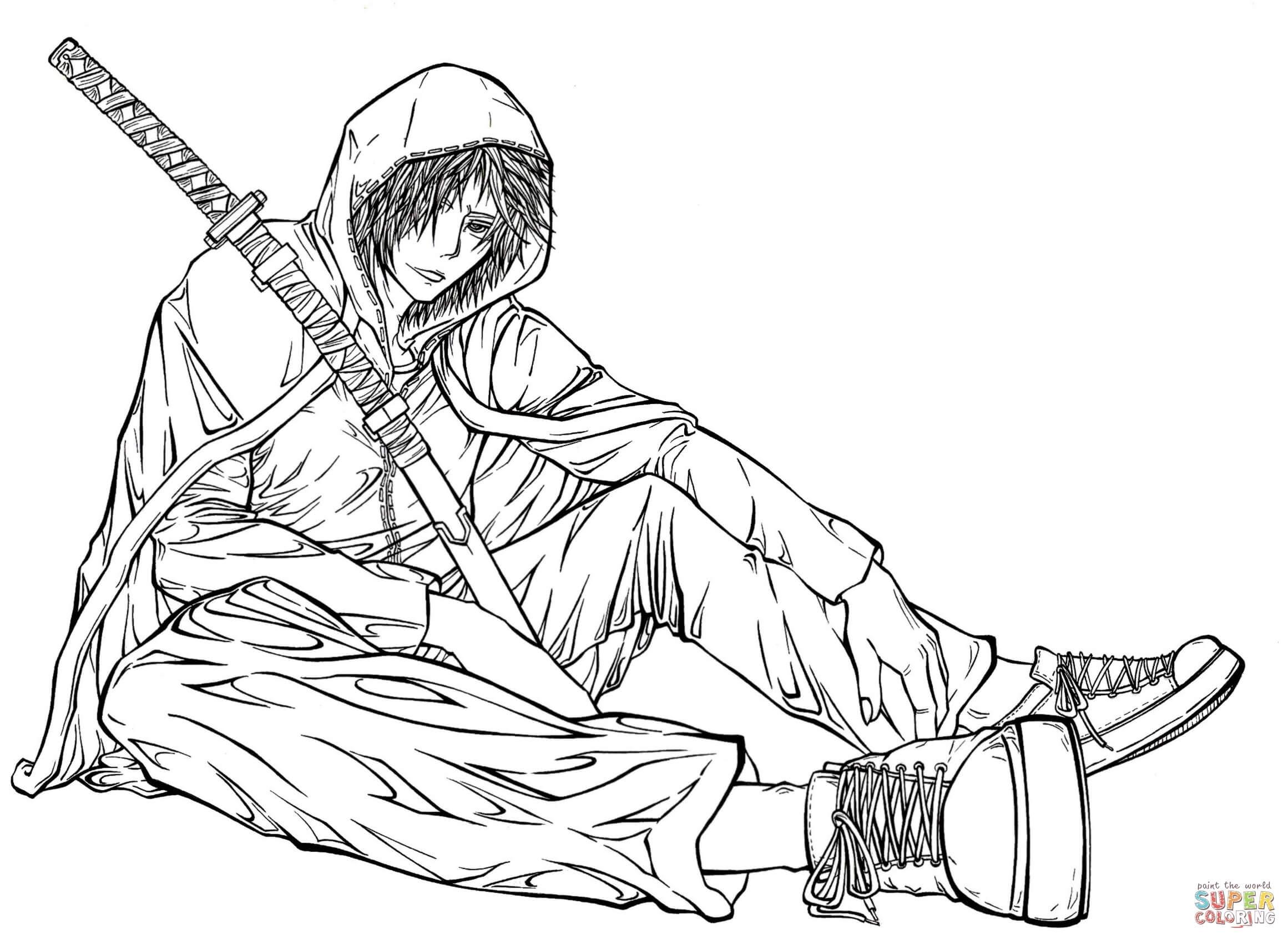 2321x1694 Printable Free Gurren Lagann Anime Manga Coloring Pages Printable