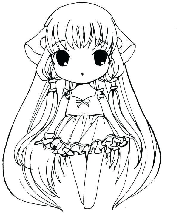 600x713 Anime Girl Coloring Pages Best At Anime Coloring Pages Anime Fox