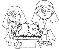 236x195 Printable Nativity Coloring Page Free Pdf Download