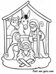 236x310 Online Christmas Nativity Printables Christmas Nativity, Free