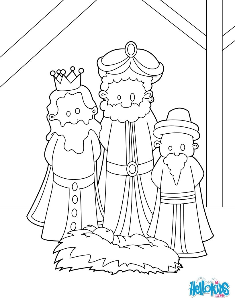 820x1060 Scarce Manger Coloring Page Baby Jesus In A Fr