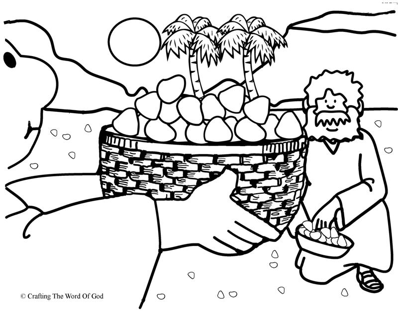 Manna Coloring Page At Getdrawings Free Download