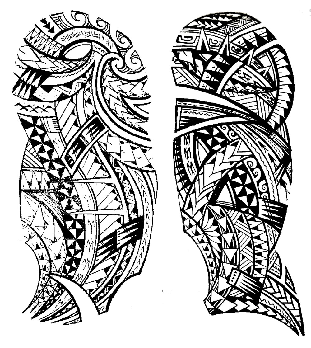 1000x1118 Tattoo Maori