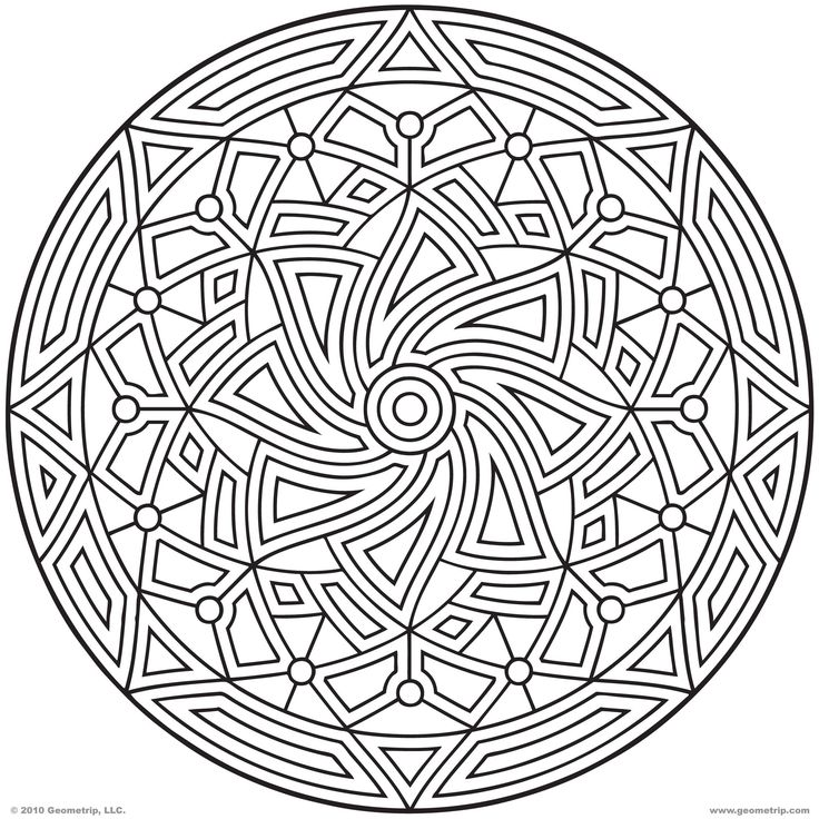 736x736 Free Printable Coloring Pages For Adults Geometric Unique
