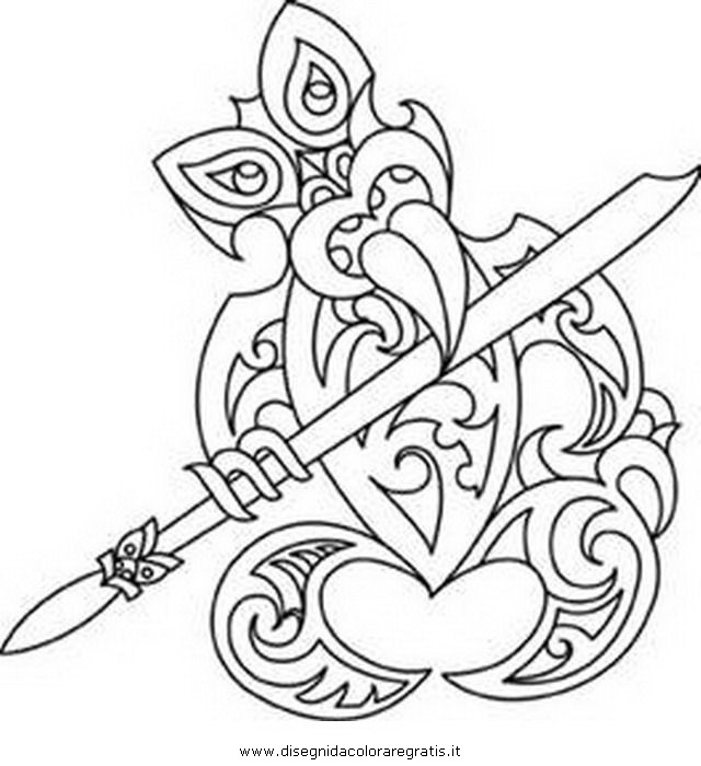 640x700 Maori Tiki Printable
