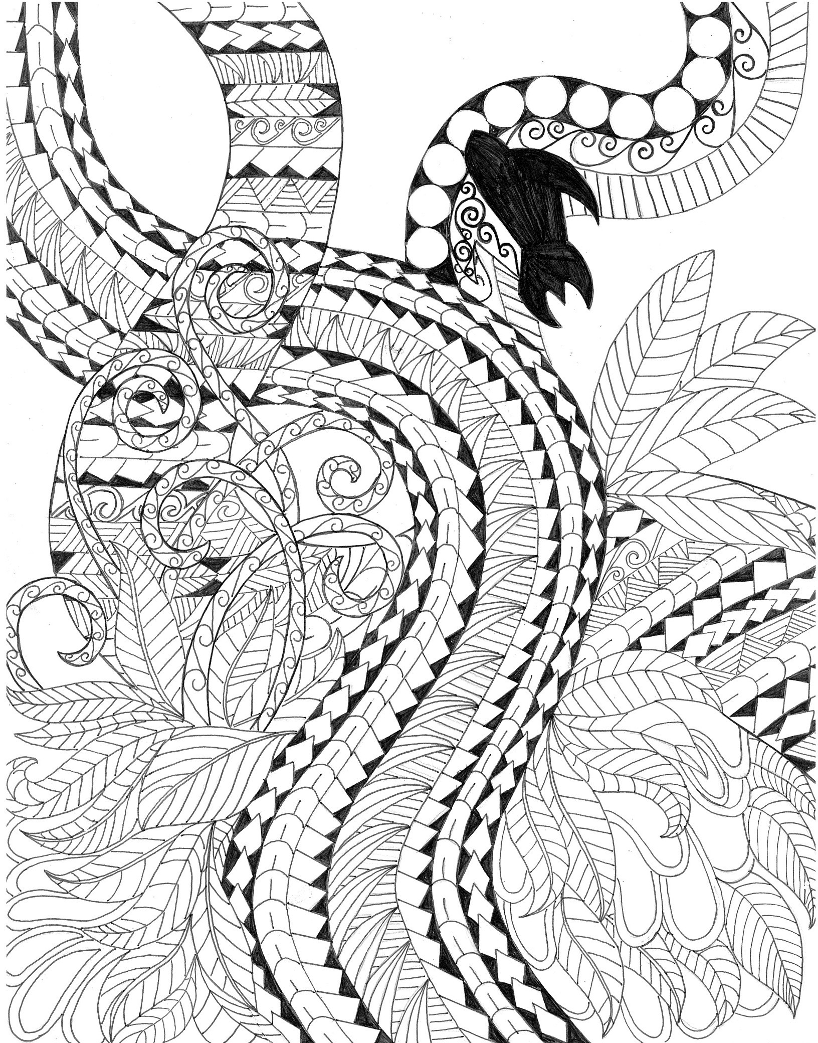 1632x2080 Kiwi Animal Coloring Pages Best Of Multi Cultural Crafts Fun