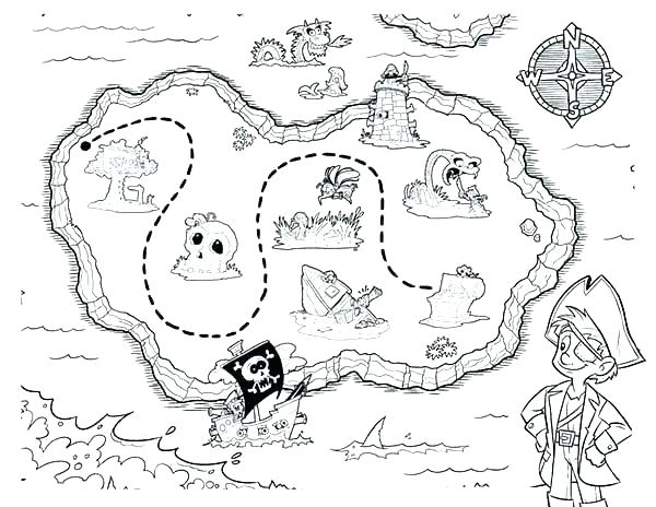600x464 Usa Map Coloring Page Maps Coloring Pages Picture Of Pirate