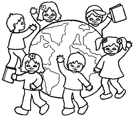 462x400 Map Coloring Pages For Kindergarten Lovely Map C Pages In Free