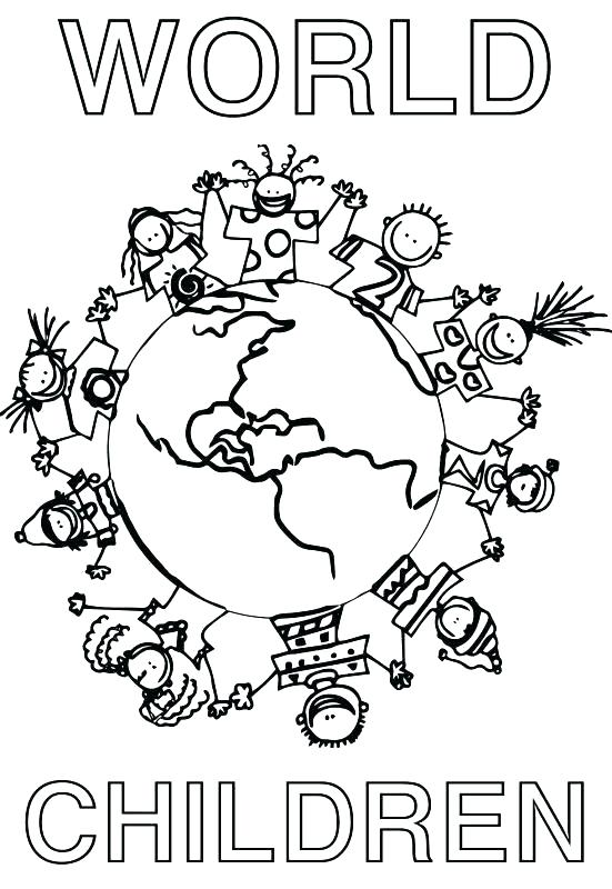 551x800 Children Of The World Coloring Pages Children Around The World