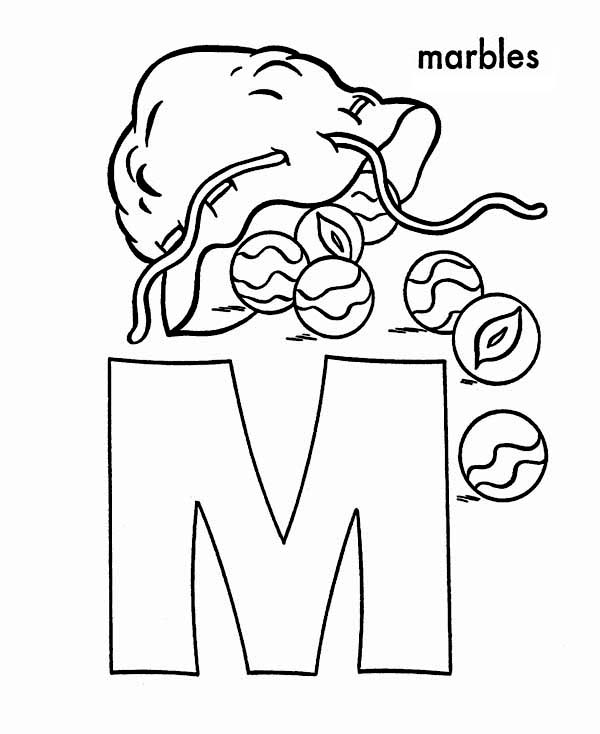 600x734 Marble Coloring Pages