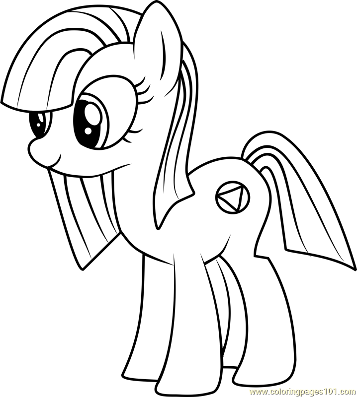 718x800 Marble Pie Coloring Page