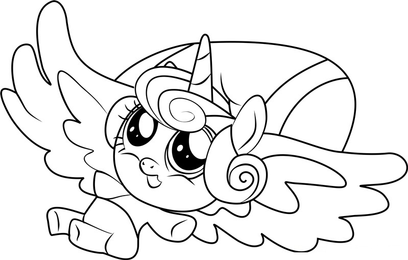 799x509 My Little Pony Coloring Pages