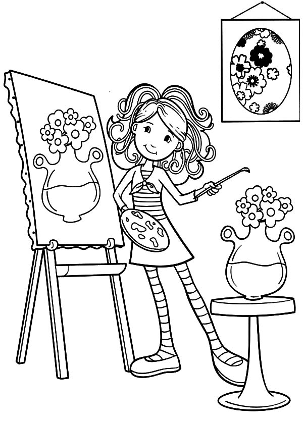 600x836 Paint Horse More Images Of Coloring Pages Posts Pai On Rainbow