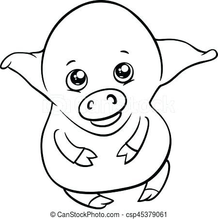 450x451 Piglet Coloring Pages Piglet Hold Love Shaped Balloon Coloring