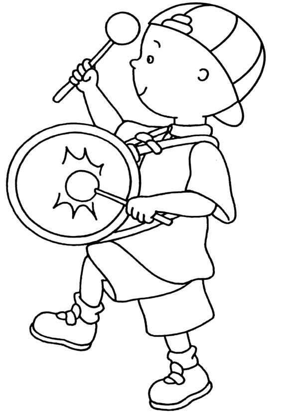600x840 Marching Band Coloring Pages
