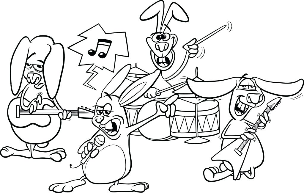 1023x649 Marching Band Coloring Pages Band Coloring Page Marching Band
