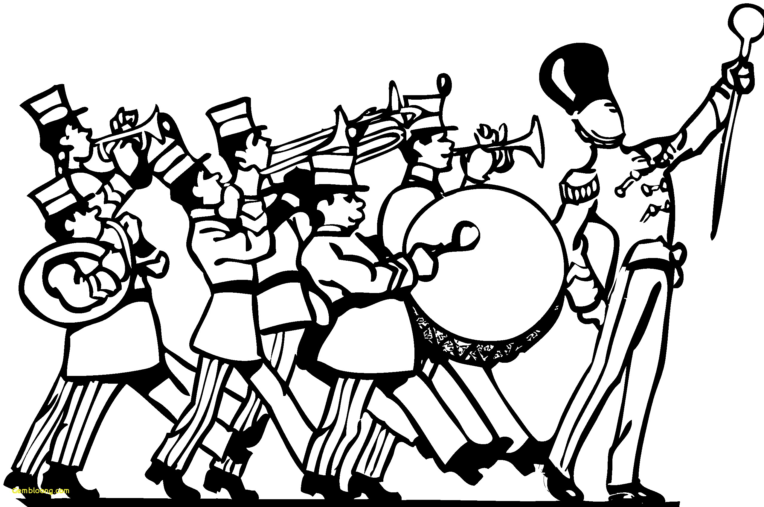 2555x1694 Marching Band Coloring Pages Hd Wallpapers Page Free Online