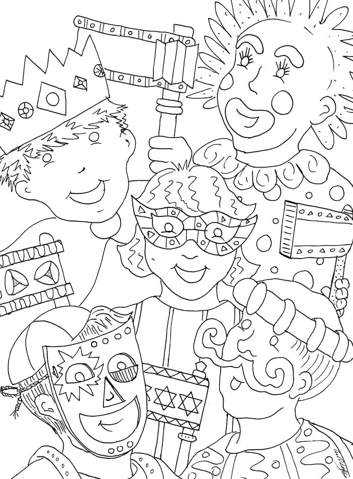702x954 Mardi Gras Color Pages Beads Coloring Pages Mardi Gras Float