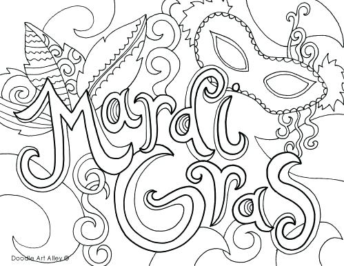 499x386 Mardi Gras Coloring Pages Free Printable Pictures Masquerade Mardi