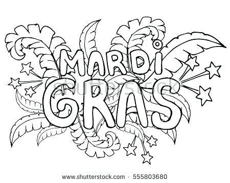 Mardi Gras Coloring Pages At Getdrawings Com Free For Personal Use