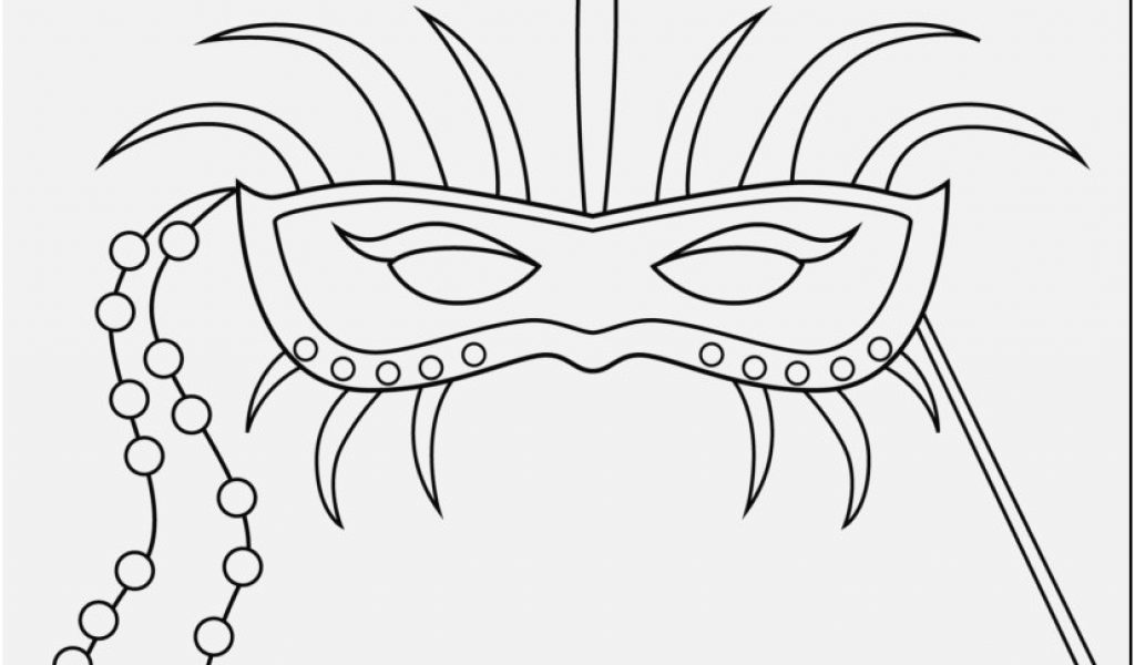 1024x600 Mardi Gras Coloring Pages Pics Extraordinary Mardi Gras Mask