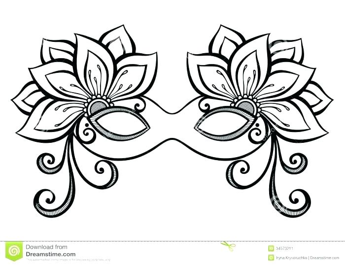 700x538 Mardi Gras Mask Coloring Pages Awesome Mask Coloring Page Mardi
