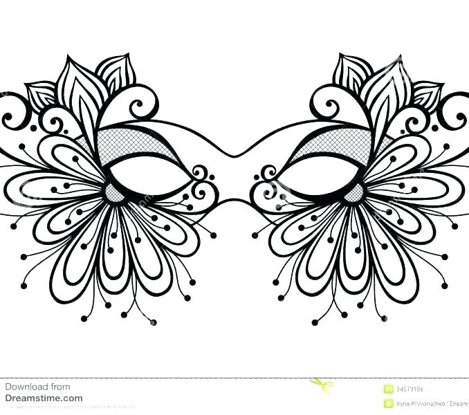 678x600 Mask Coloring Page Coloring Pages Free Printable Mask Coloring