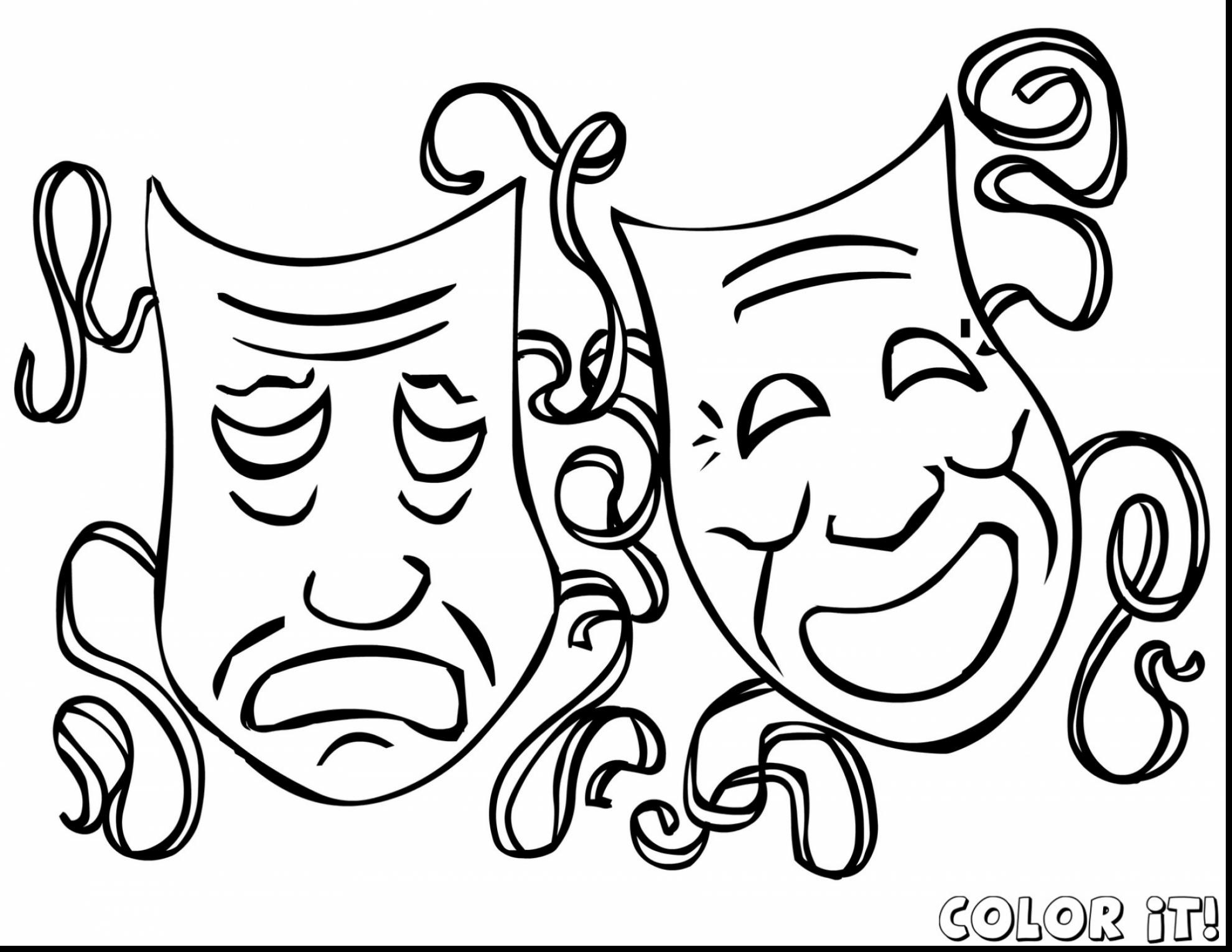 1980x1530 Unbelievable Mardi Gras Mask Coloring Pages With Carnival
