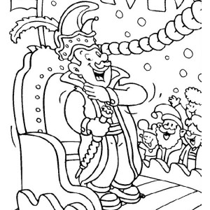 Mardi Gras Parade Coloring Pages