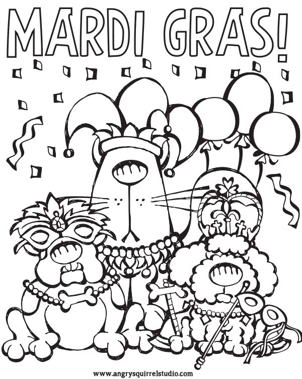 600x754 Mardi Gras Coloring Pages