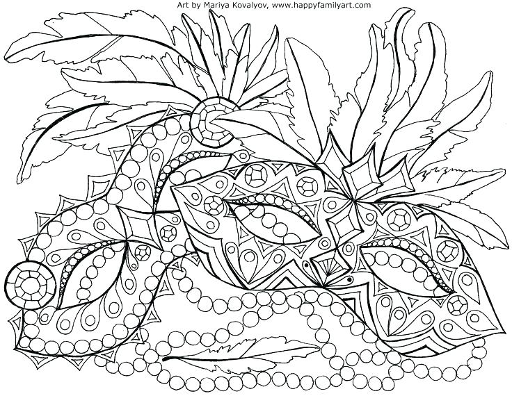 736x570 Mardi Gras Coloring Pages A Colorful Parade Of Decorative Vehicle