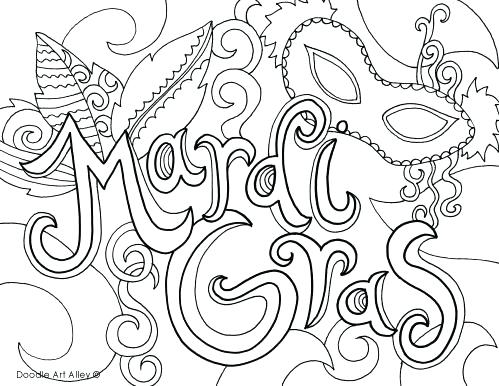 499x386 Mardi Gras Coloring Pages Coloring Pages Free Printable Coloring